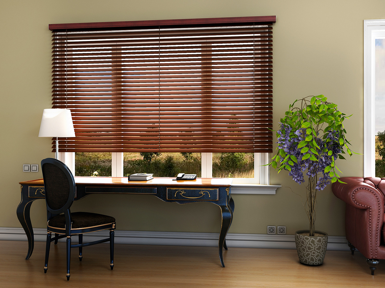 Basswood Wooden Blinds